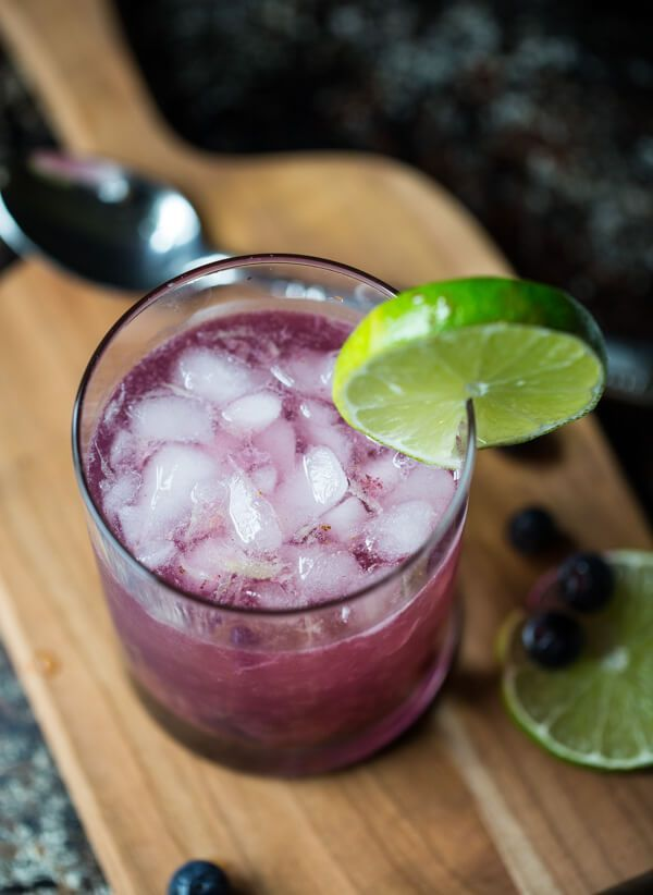 Virgin Blueberry Mojito #blueberrymojito Virgin Blueberry Mojito #blueberrymojito