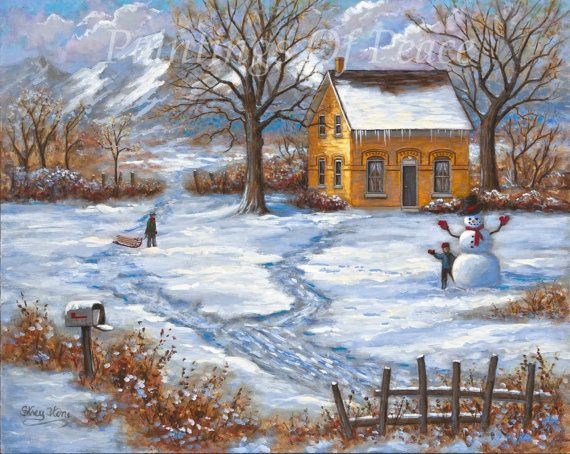 1000+ images about Art ~ Seasons ~ Winter on Pinterest | Winter ...