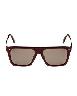 e2020a203e Celine Bold Rectangular Acetate Metal Polarized Sunglasses ...