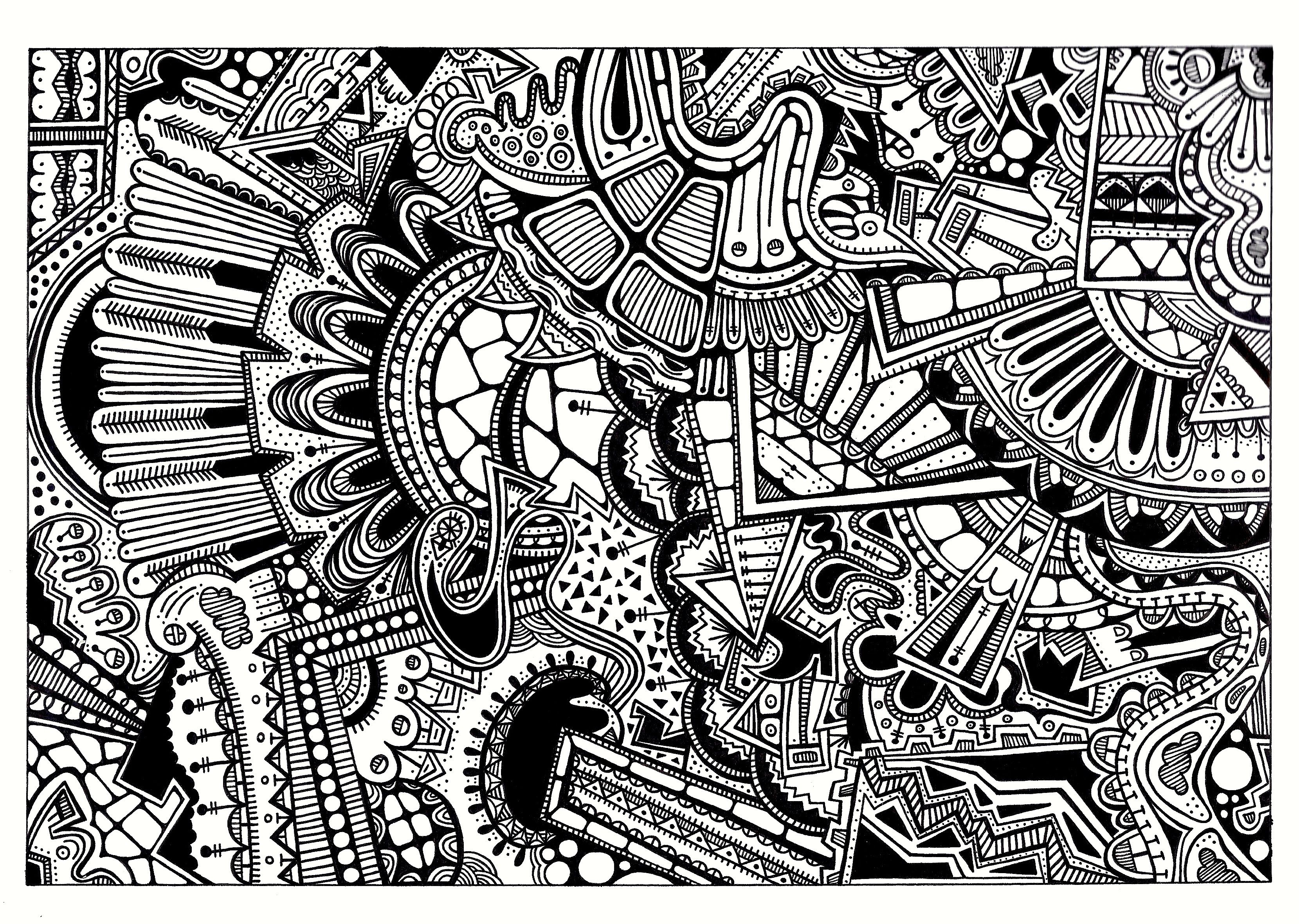17 Best images about Zentangles/Doodle Art on Pinterest | Coloring ...