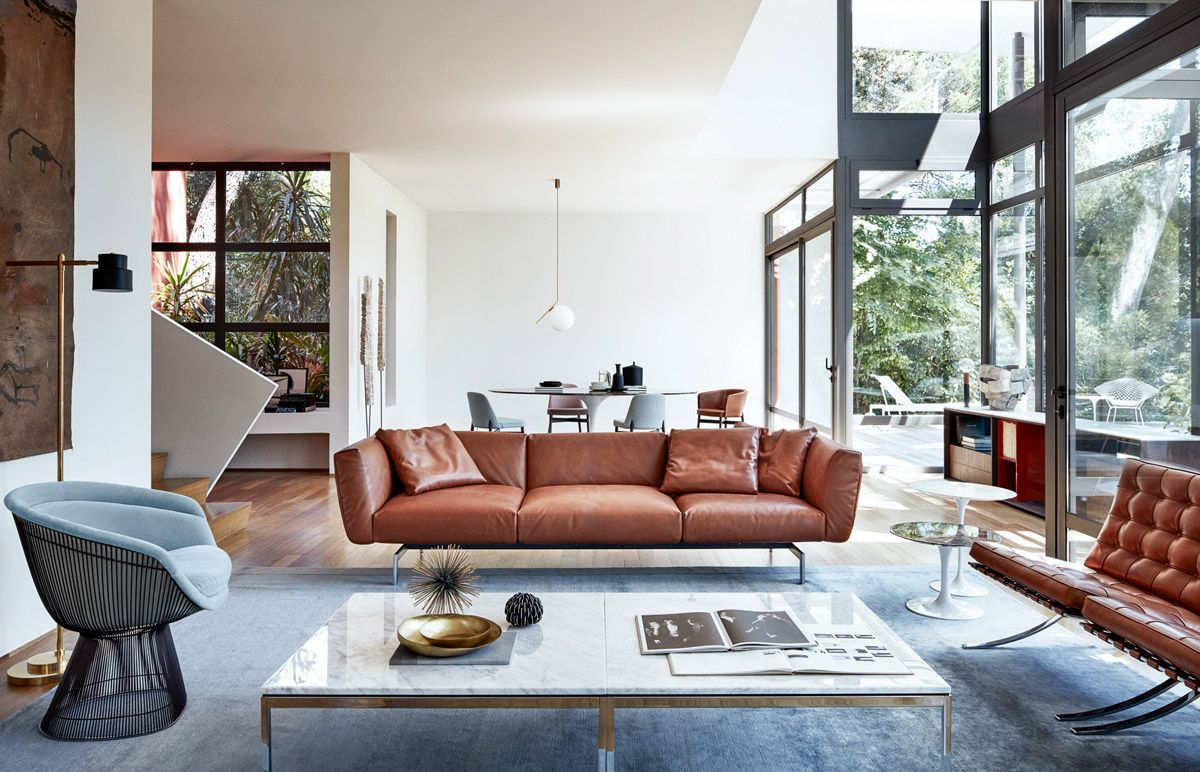 Natuzzi Marmortisch 30 Mesmerizing Mid Century Modern Living Rooms And Their Design