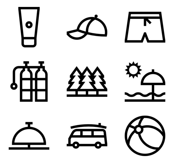 Island Free Vector Icons Designed By Monkik Cartoon Clip Art Cute Easy Drawings Beach Icon