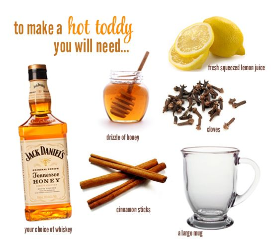 Hot Toddy Recipe For Colds, Toddy Recipe, Hot