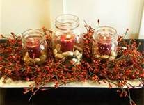 mason jar centerpieces for fall weddings - Bing Images
