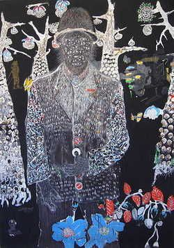 Omar Ba is a Senegalese artist who holds a degree...