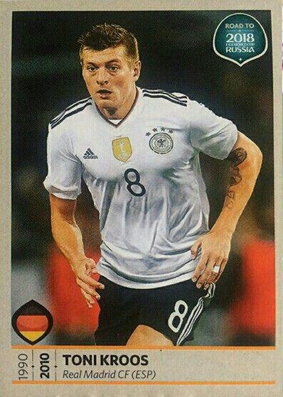 Camino al mundial de Rusia 2018 - Toni Kroos - Alemania