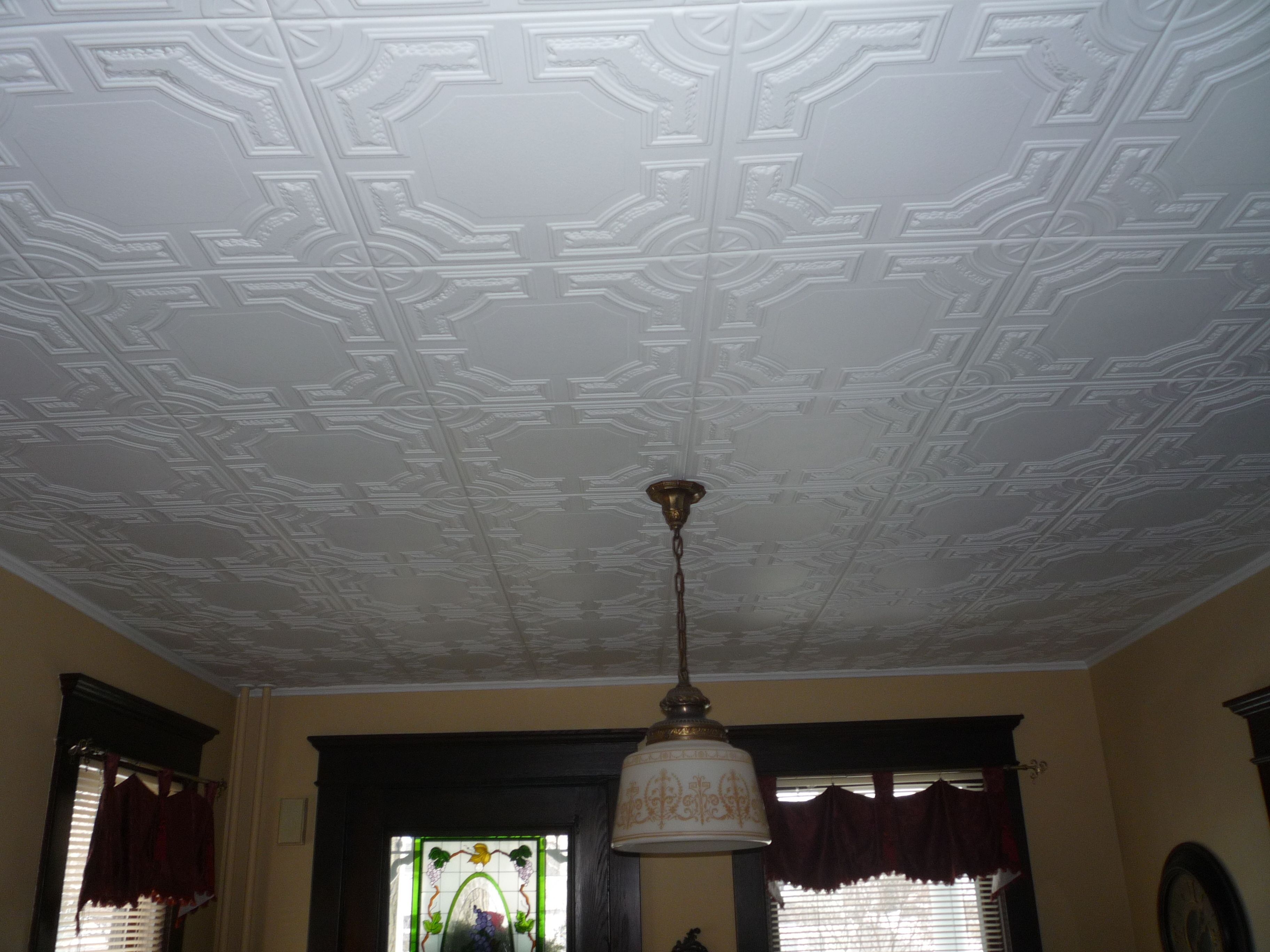 Styrofoam Ceiling Tiles Decorative | http://creativechairsandtables ...
