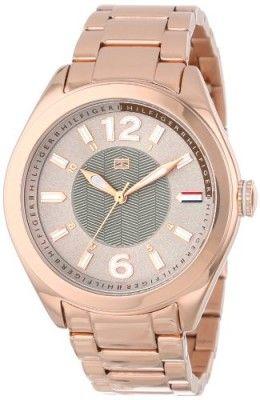 1c9cf962f19 Relógio Tommy Hilfiger Women s 1781369 Casual Sport Grey Dial Rose Gold  Bracelet Watch  Relogio  TommyHilfiger