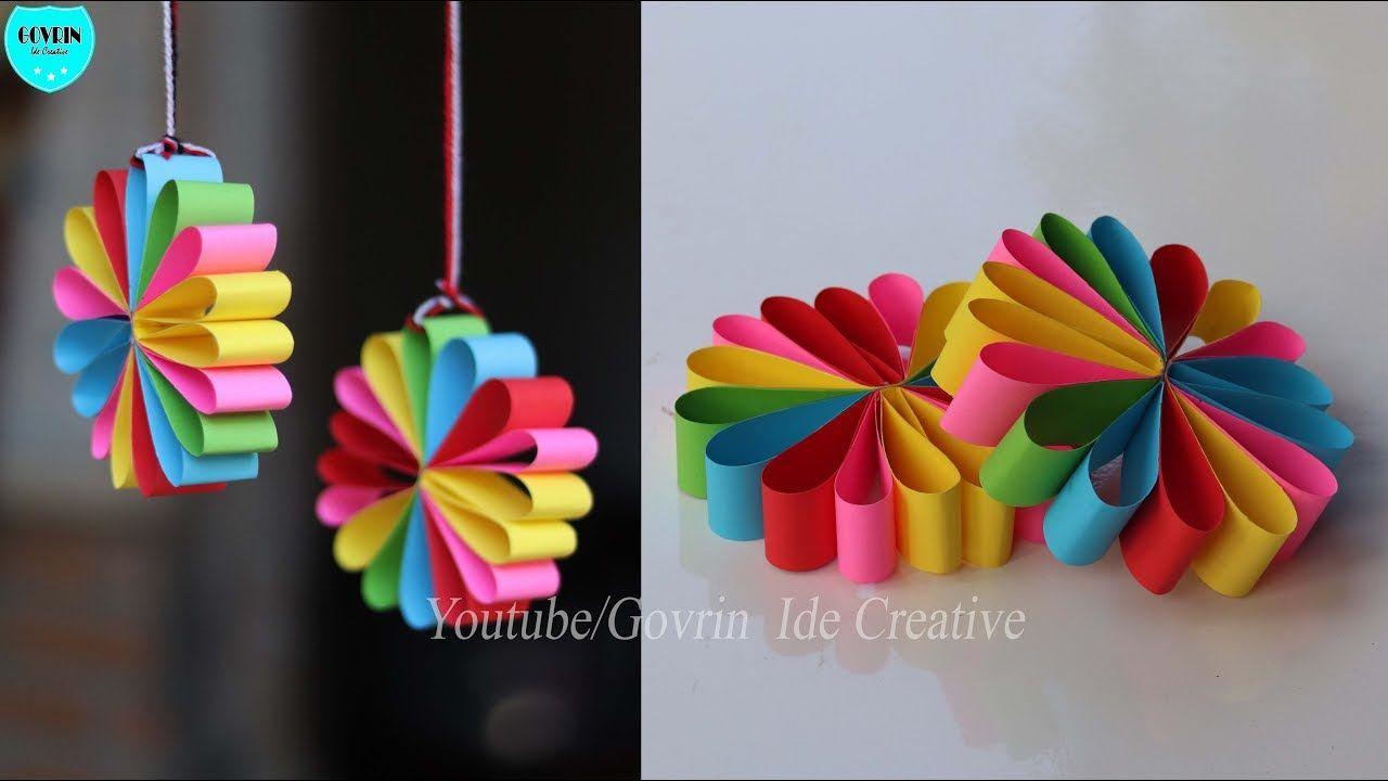 Wall Decor Ideas Hiasan Dinding Cantik Dari Kertas Origami