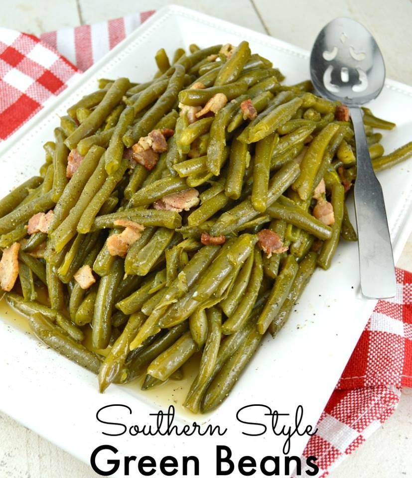 ❤️SOUTHERN STYLE GREEN BEANS ❤️ Southern Style Green Bean. Cooked low and…