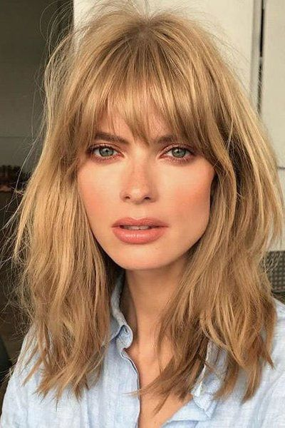 Finally! This Vintage Bangs Trend Is Making a Return and It Looks Good On Everyone