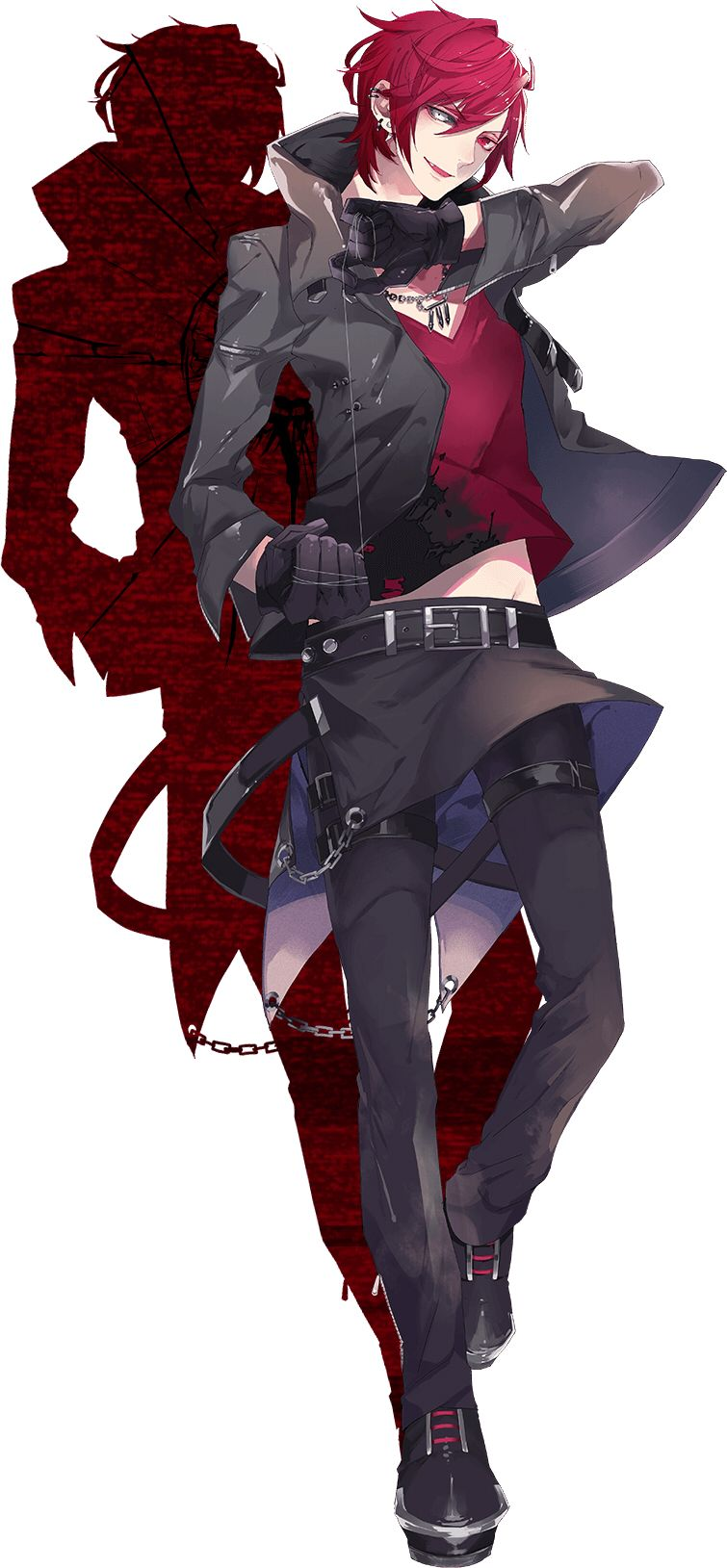 Badass Anime Character Design : Chara criminale cute boy pinterest taps much