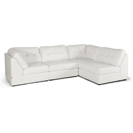 I found this amazing Ginelli White Bonded Leather Modular Sectional at nomorerack.com for 62% off.