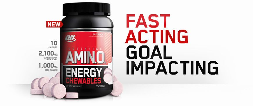 Amino Energy Chewables Optimum Nutrition Nutrition Whey Protein