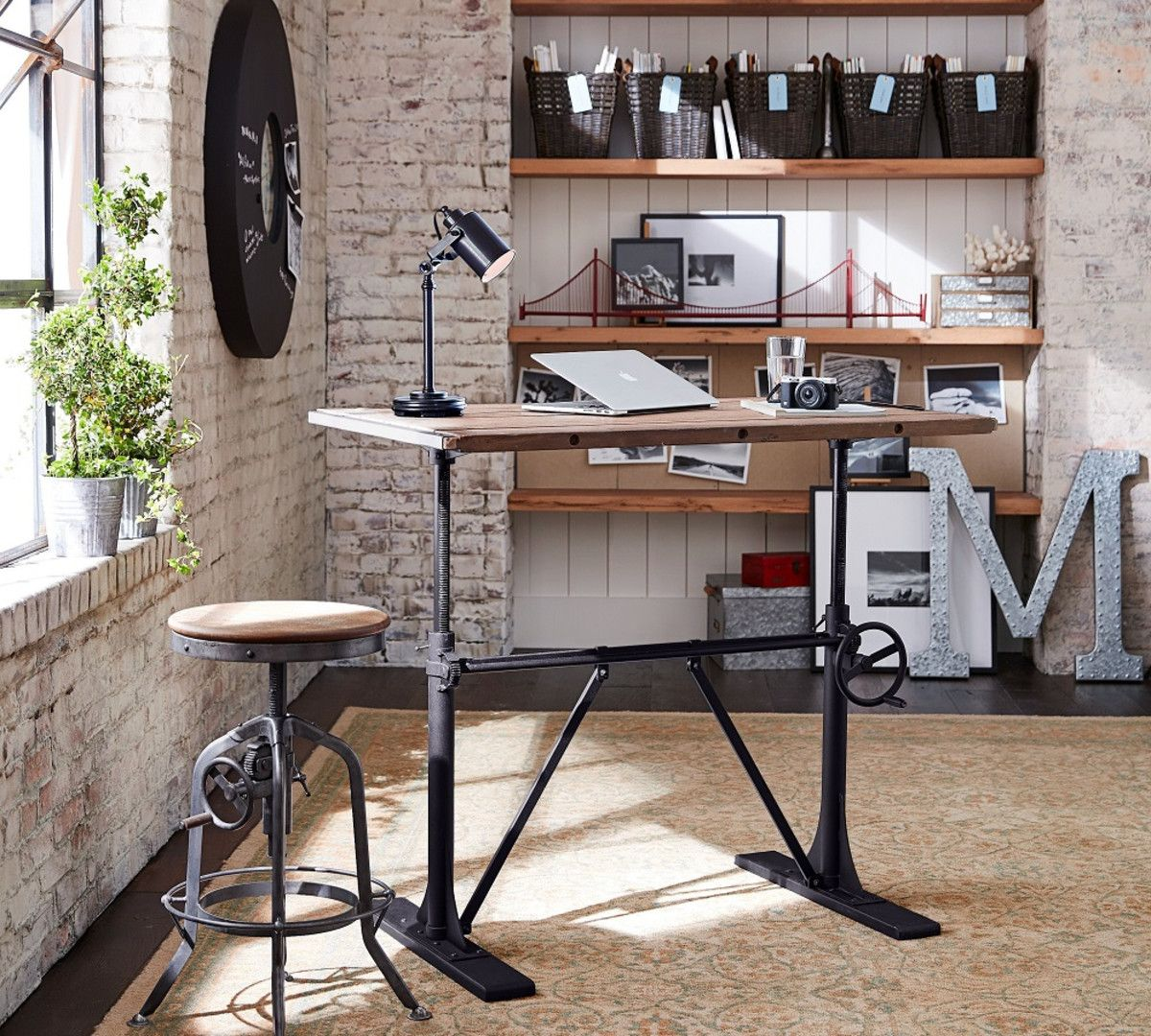 Pittsburgh Crank Sit Stand Desk: Pin On Home Renos