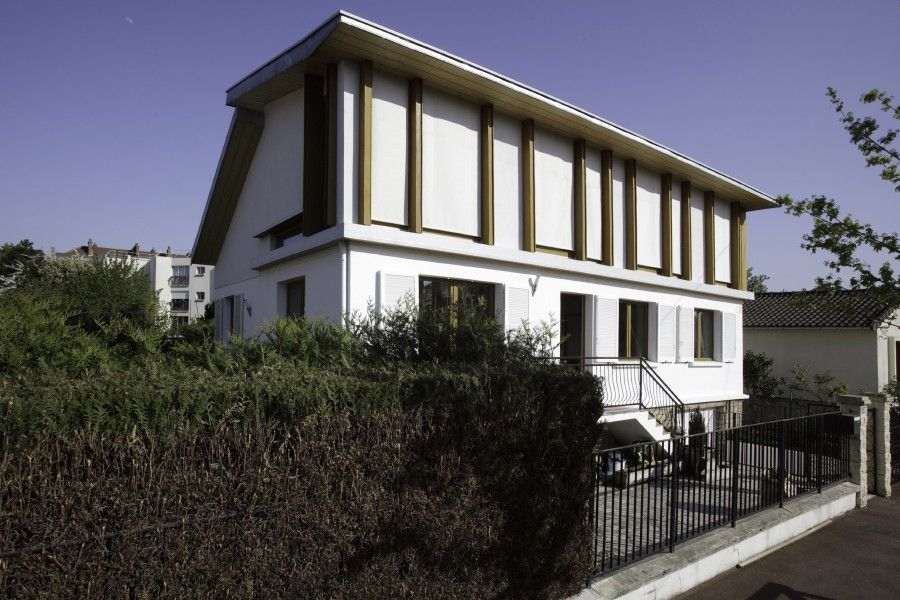 Surelevation de la maison v rueil malmaison par aldo turchetti et olivia d aragon agence - Architecte rueil malmaison ...