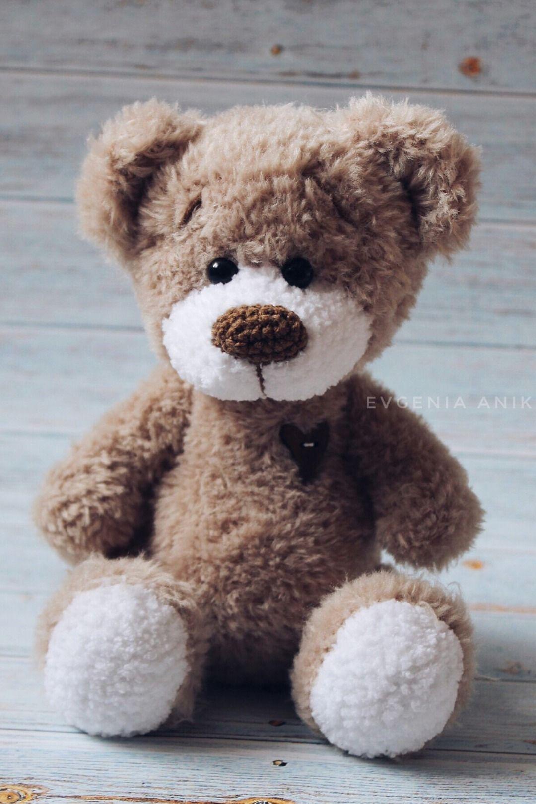 Crochet PATTERN Teddy Bear / Amigurumi pattern toy bear Teddy bear tutorial / bear gift Mother's day #babyteddybear