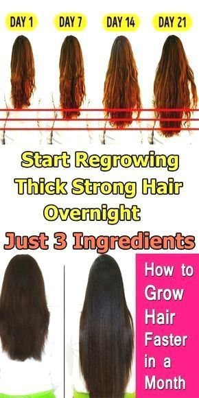 Thick, Strong Hair Overnight With Just 3 Ingredients Who doesn't dream of long hair? Experts believe that approximately 50% of women are losing hair faster than ever. So, today I am going to share you theWho doesn't dream of long hair? Experts believe that approximately 50% of women are losing hair faster than ever. So, today I am going to...Regrow