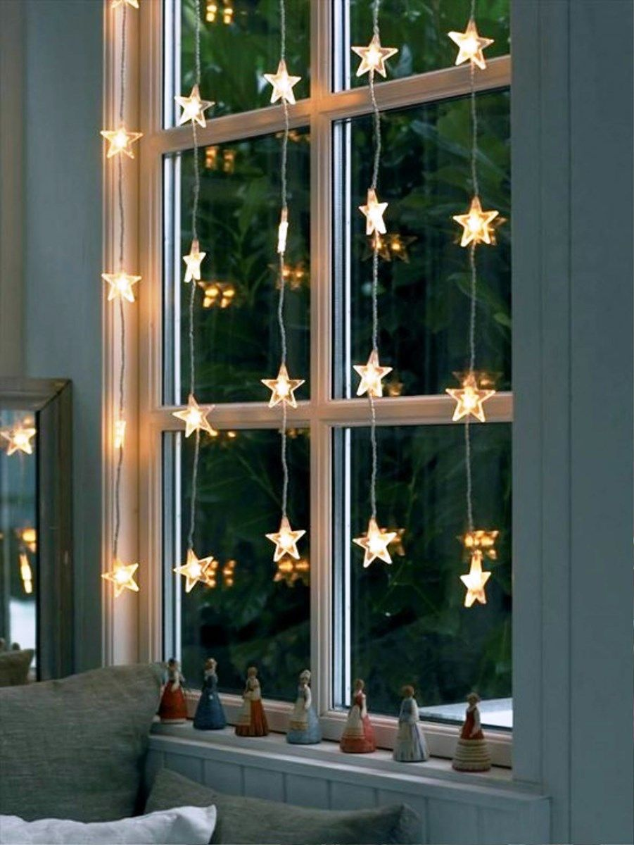 Window decor for christmas  pin by anna ipsen on deck the halls  pinterest  christmas décor