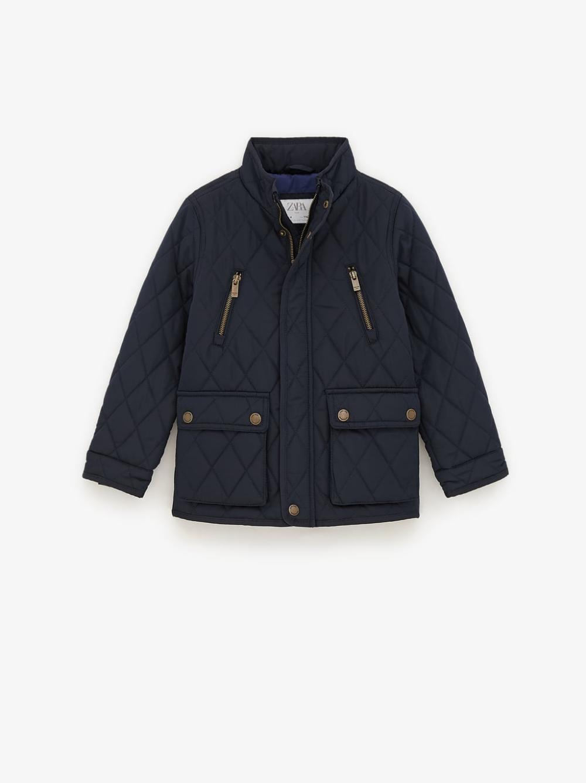 Cazadora Acolchada Basica Tops Nino 6 14 Anos Ninos New Collection Zara Mexico Boy Outerwear Jackets Puffer Jackets [ 1337 x 1000 Pixel ]