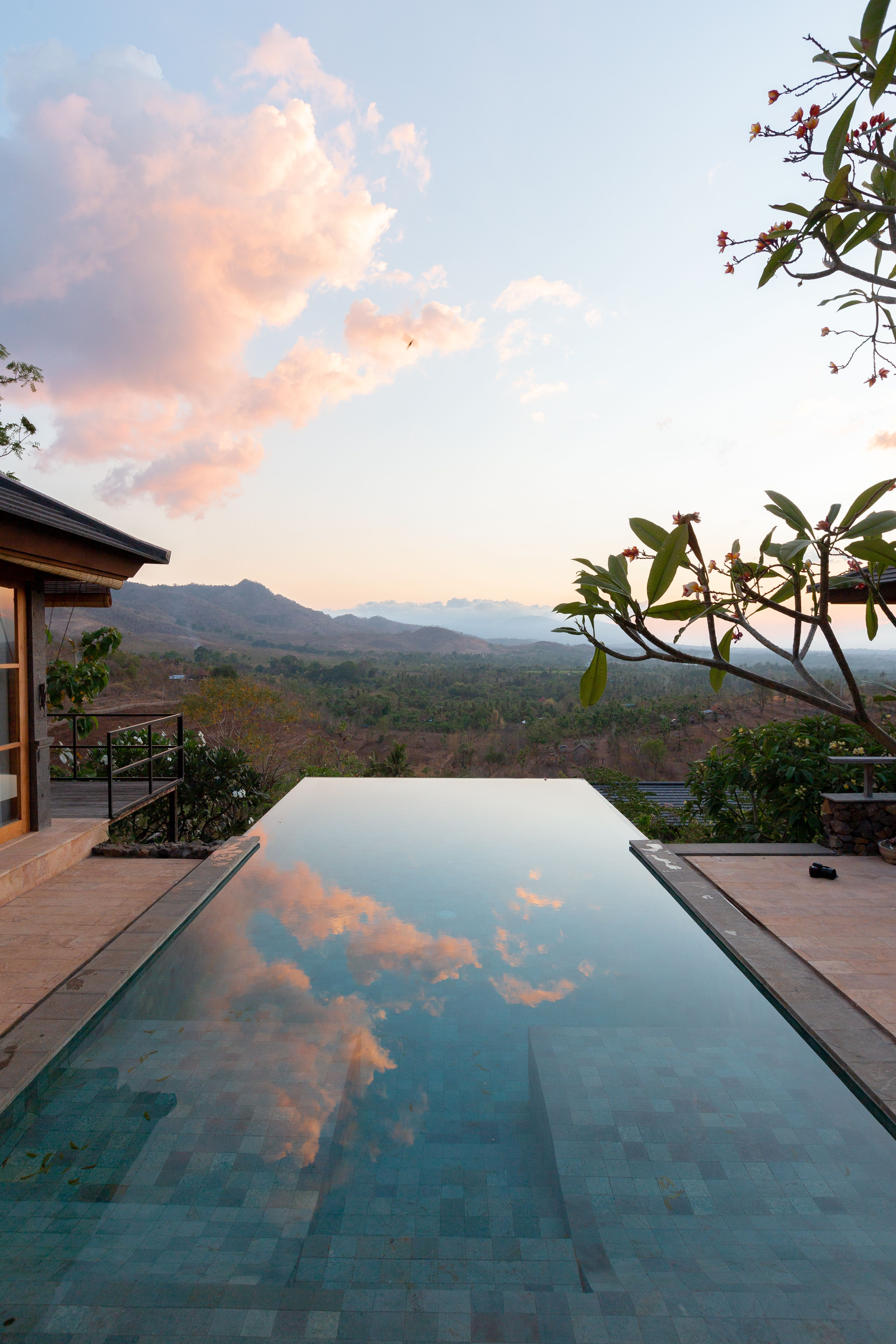 Sunrise At Your Private Villa Infinity Pool Backyard Dream Pools Outdoor Pool