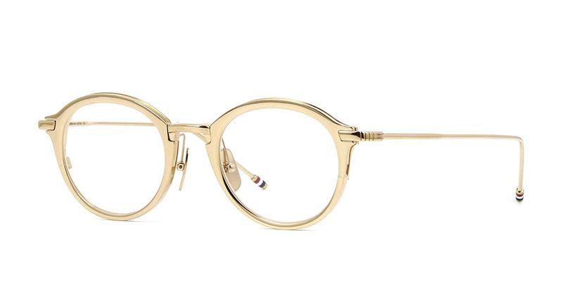db0d77ac3e5 Thom Browne TB 110 C White Gold Glasses
