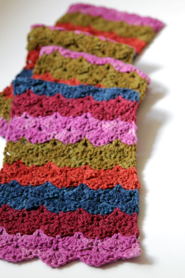 Don\'t let your favorite scraps go to waste! Crochet the free Scrap ...