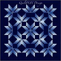 Nordic Starburst King Size 110x110 Via Craftsy Quilts Pattern Store Starburst