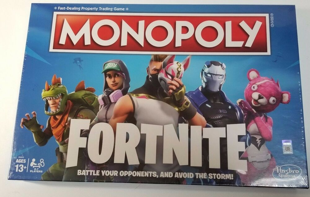 Fortnite Monopoly Limited Edition Board Game Ready To Ship Fast Delivery Fortnite Monopoly Game Fortnite Monopoly Football Board Game
