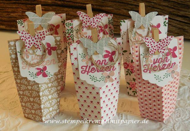 """Stempelkrempel mit Papier : Sale-a-Bration Goddies mit dem Papier """"Liebesblüten"""", Sale-a-Bration Gratis - Stempelsets: Paarweise und Blumen für Dich"""