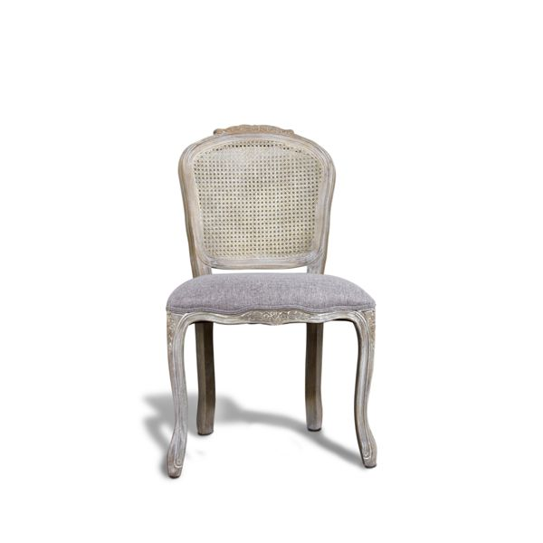 Antique Louis Grey Cane Back Chair Dunelm Mill Cane Back Chairs Furniture Dining Room Chairs