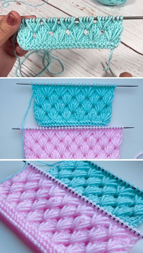 Photo of Pistachio Knitting Stitch – Easy Tutorial