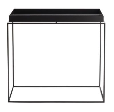 Table Basse Tray Hay Noir Made In Design Table Basse Plateau De Table Grande Table Basse