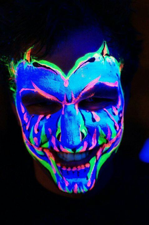 Uv make up neon Pinterest Danzantes y Maquillaje