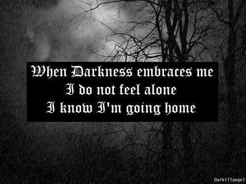 Momma I M Coming Home Embracing Darkness Frases