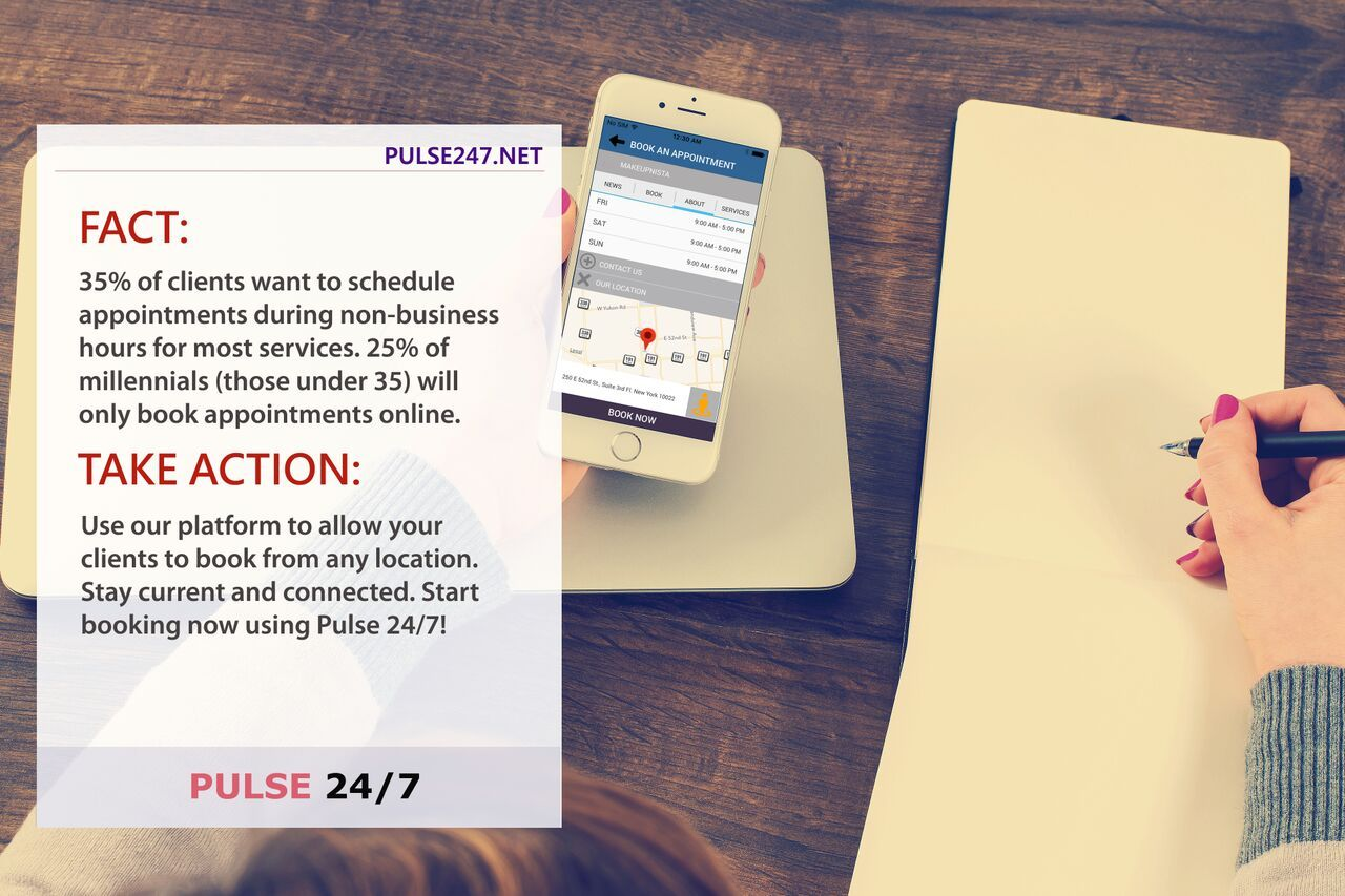 Pulse 24/7 Free Online Appointment Scheduling Software 2
