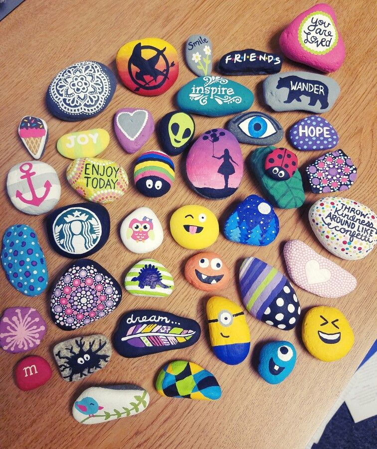 Painted Rock Painting Art