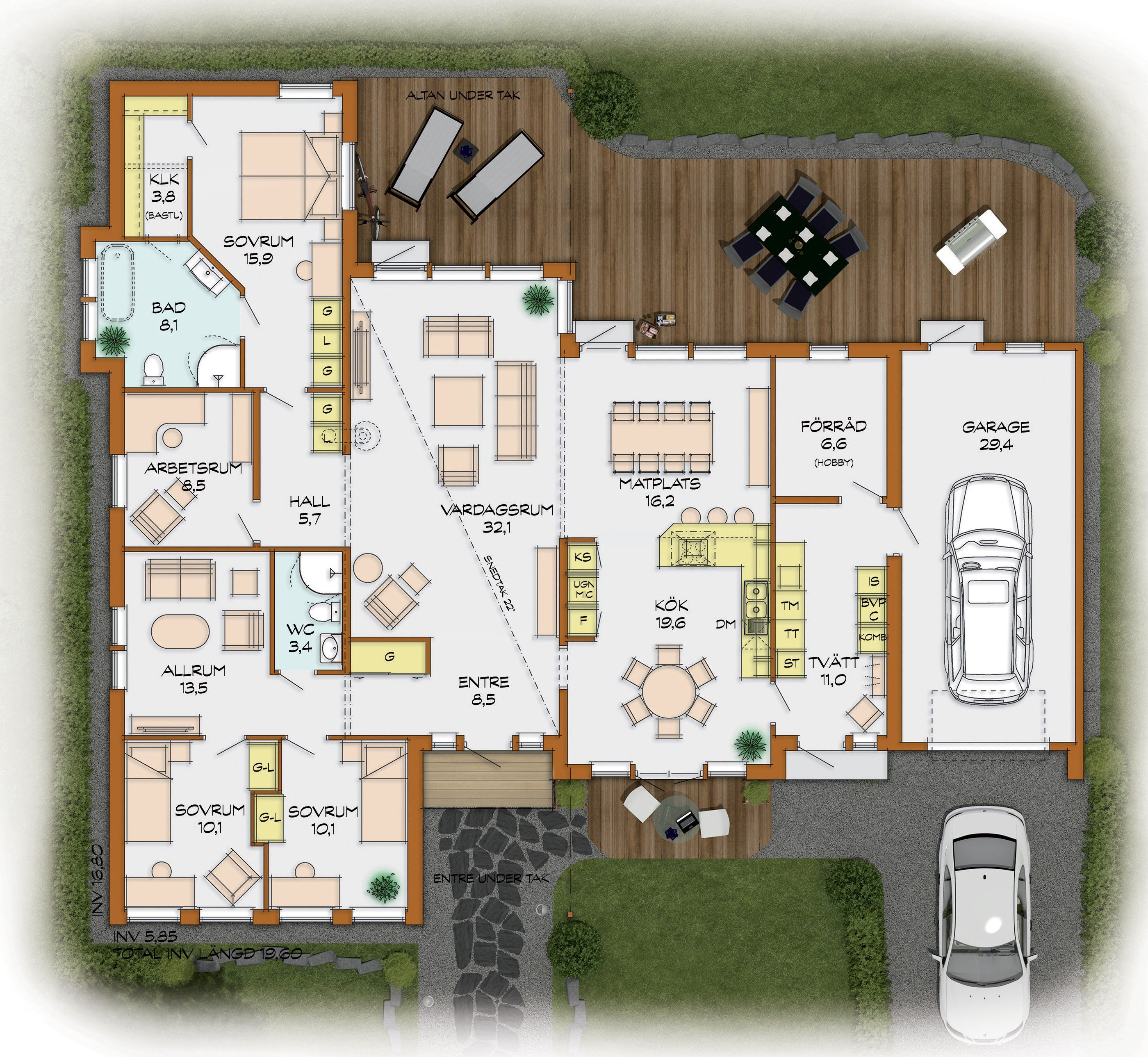 Grundriss Haus 6 Schlafzimmer Neues Weltdesign 2018 Avec