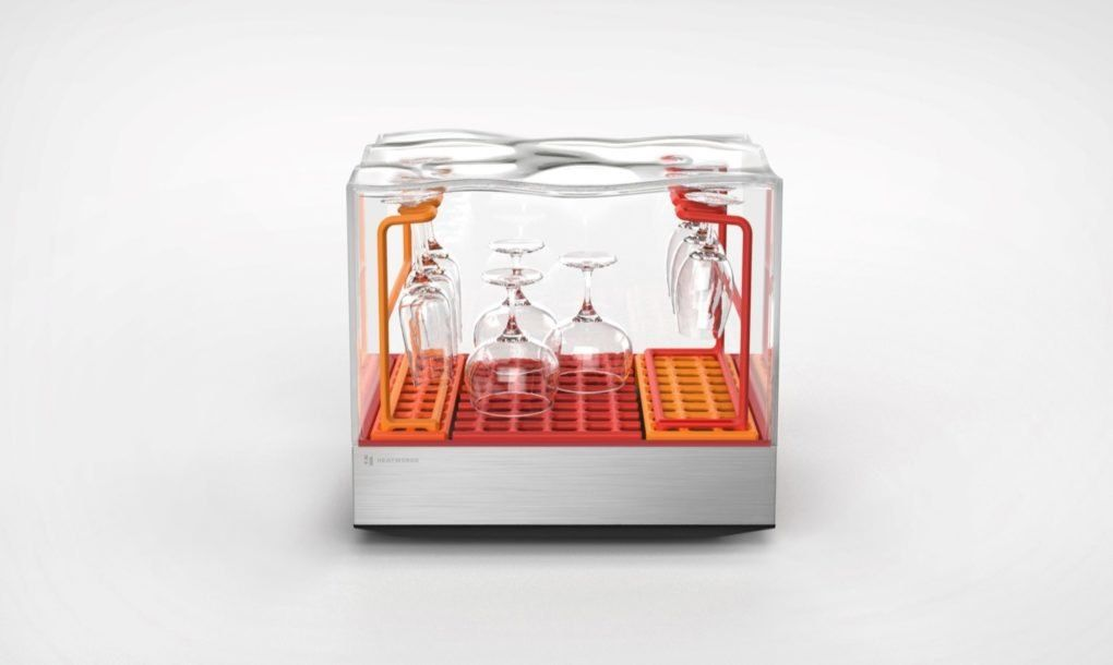Tetra Countertop Dishwasher By Heatworks Wine Glasses Of