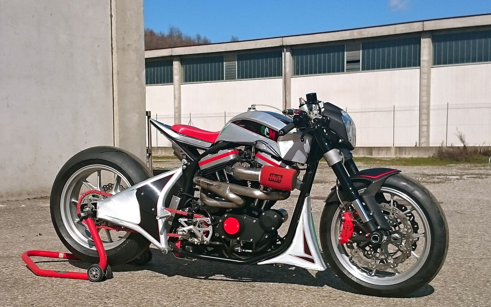Buell X1 By Simone Conti Motorcycles | Ducati 1098 Front End | Ducati 999  Rims |