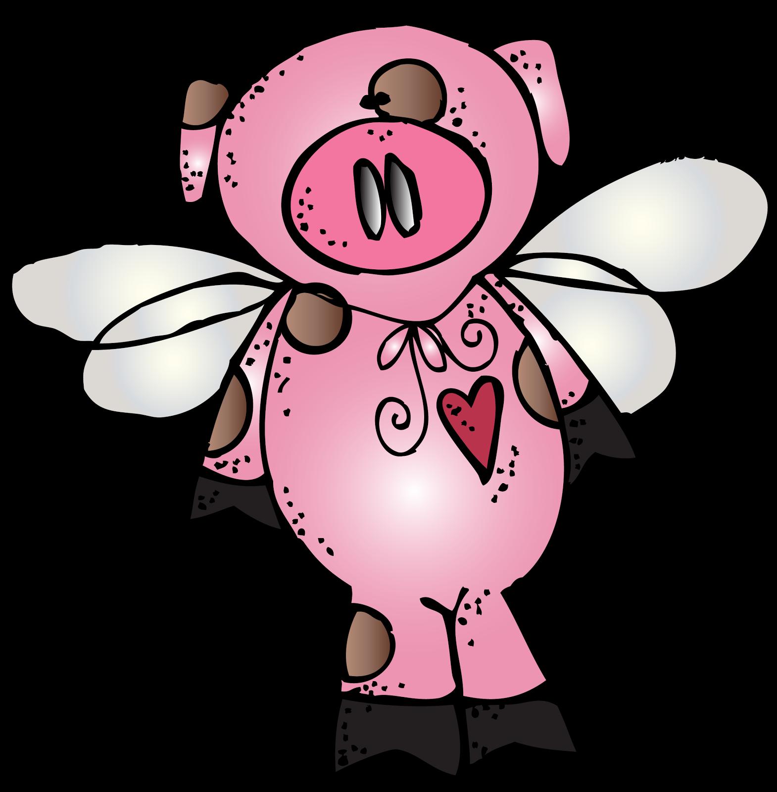 Melonheadz Flying Pig Melonheadz Melonheadz Clipart