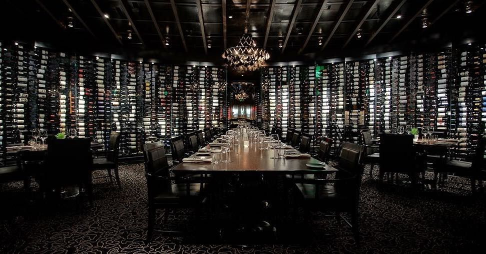 """arialv: """"A picture is worth a thousand words..unless it's a picture of the wine wall at Jean Georges. In that case it's worth $1 million. #HowWeVegas"""""""