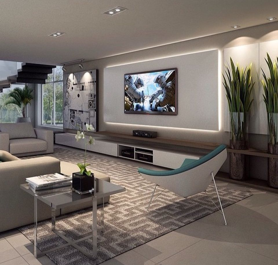21 Incredible Home Theater Design Ideas Decor Pictures: Two Rooms Part Of One Great Room With Heavy Curtain As A