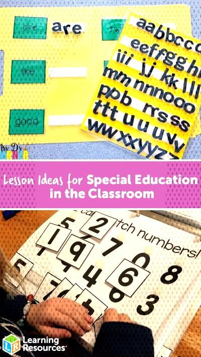 Lesson Ideas for Special Education in the Classroom - Learning Resources Blog
