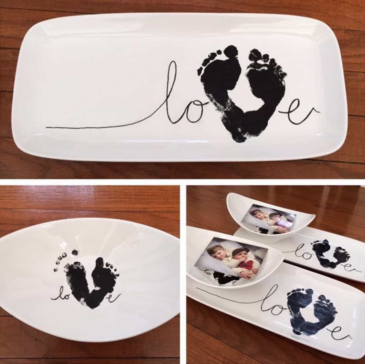Sweetest Footprint Art Ideas You'll Love
