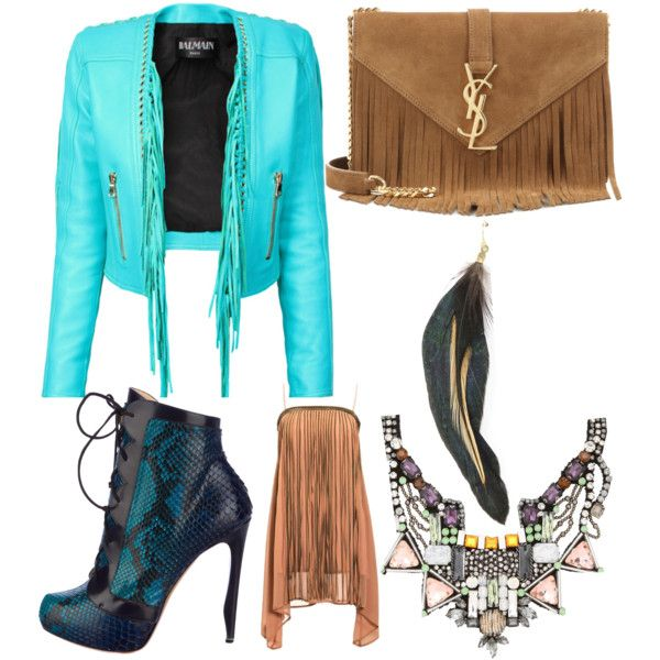 The Rainforest by lexy13430 on Polyvore featuring polyvore, fashion, style, Balmain, Nicholas Kirkwood, Yves Saint Laurent, Nocturne and MANGO