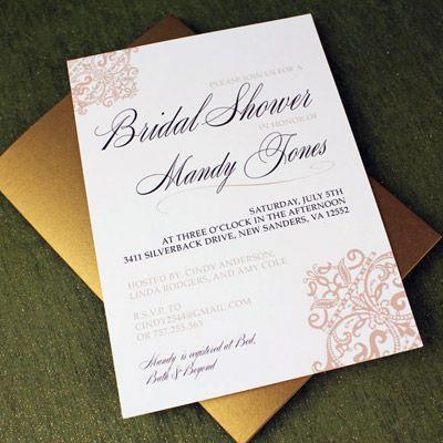40 Diy Bridal Shower Invitations Templates ctsfashioncom