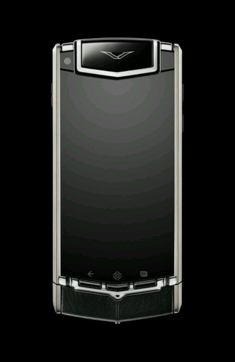 The Vertu: Ti. Posh $10,000 Android Phone