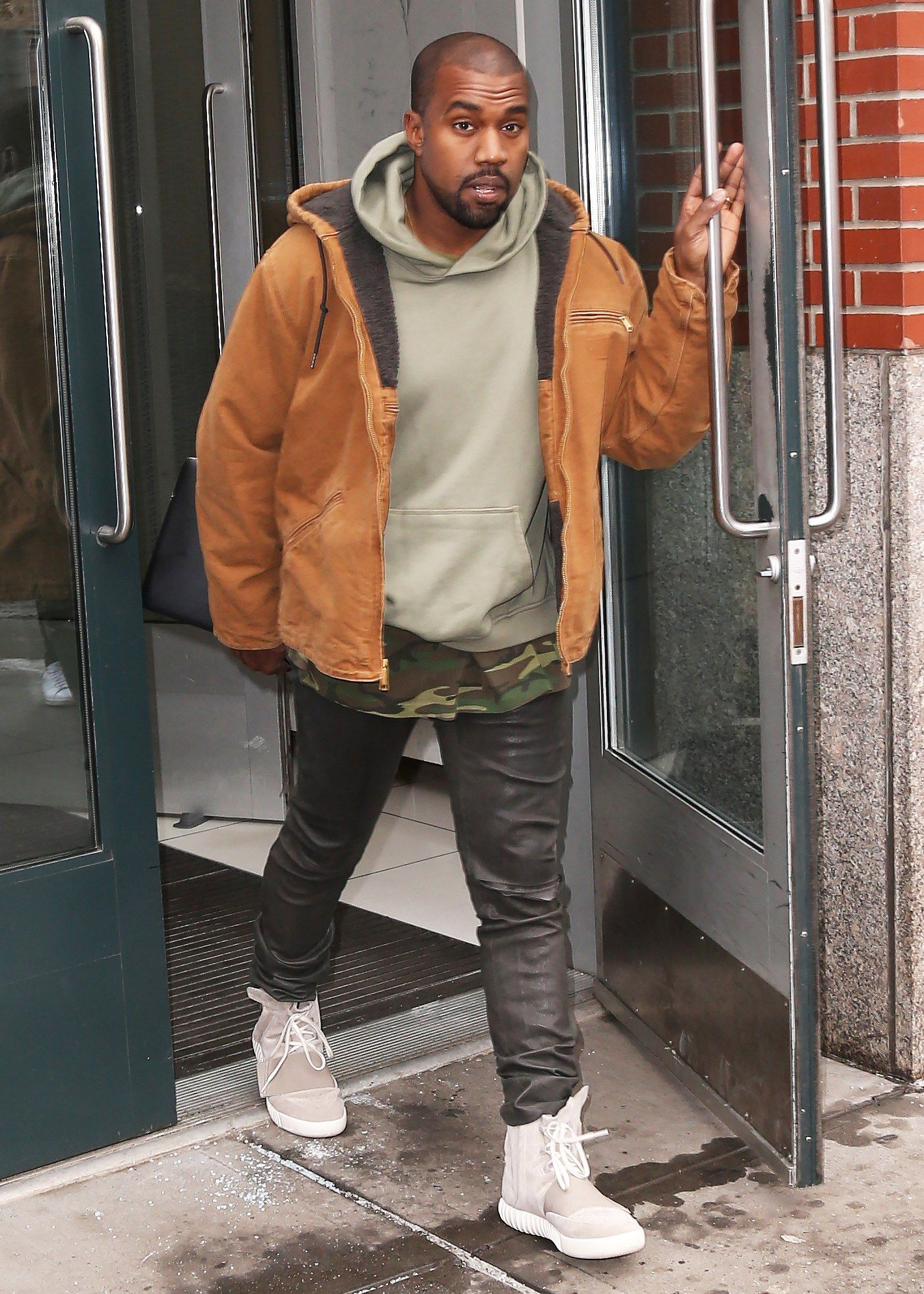 30cff43b283 All of Kanye West s Best and Wildest Outfits in 2019