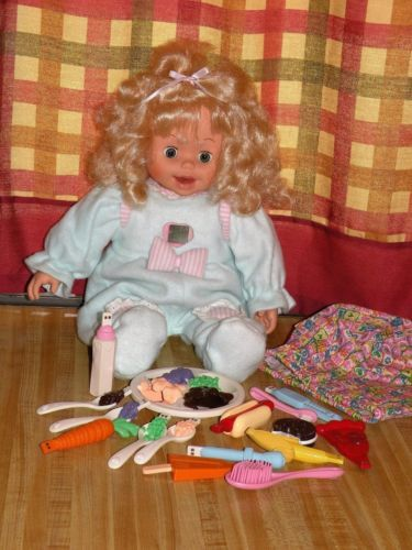 by Playmates Amazing Amy Doll,1998 In working order. Vintage Interactive